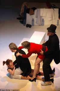 Scène V Gavroche, Rep, Maud, Ricardo